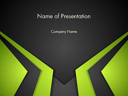 Technological Background PowerPoint Template