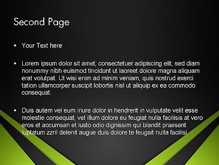 Technological Background PowerPoint Template Slide 2
