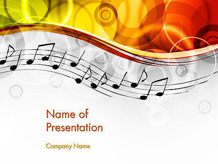 Classical Music PowerPoint Template, 13805, Art & Entertainment — PoweredTemplate.com
