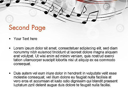 Classical Music PowerPoint Template, Slide 2, 13805, Art & Entertainment — PoweredTemplate.com