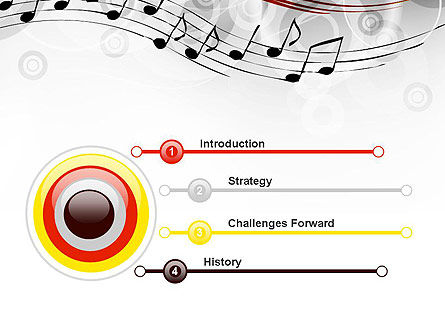 Classical Music PowerPoint Template, Slide 3, 13805, Art & Entertainment — PoweredTemplate.com