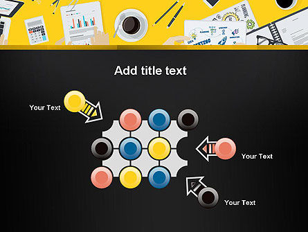 Office Meeting Top View PowerPoint Template Slide 10