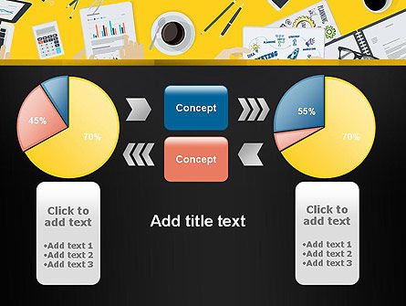 Office Meeting Top View PowerPoint Template Slide 16
