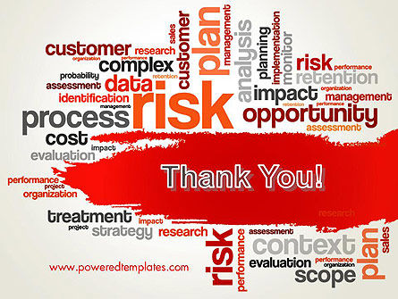 Risk Management Word Cloud PowerPoint Template Slide 20