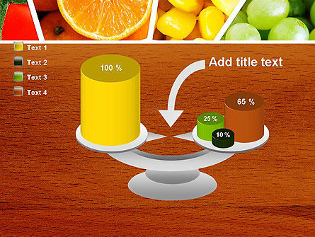 Fruits Collage PowerPoint Template Slide 10