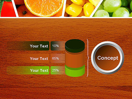 Fruits Collage PowerPoint Template Slide 11