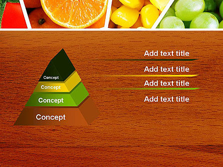 Fruits Collage PowerPoint Template Slide 12