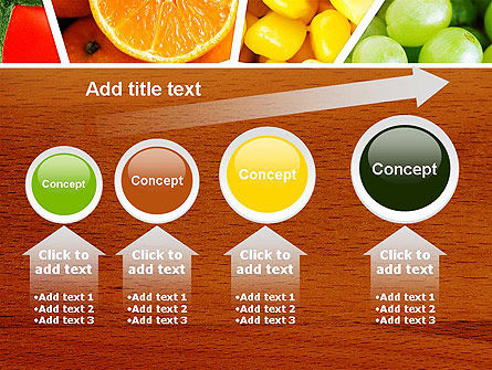 Fruits Collage PowerPoint Template Slide 13