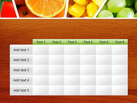 Fruits Collage PowerPoint Template Slide 15