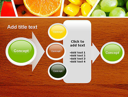 Fruits Collage PowerPoint Template Slide 17