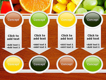 Fruits Collage PowerPoint Template Slide 18