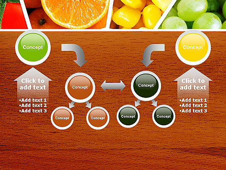 Fruits Collage PowerPoint Template Slide 19