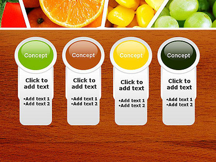 Fruits Collage PowerPoint Template Slide 5