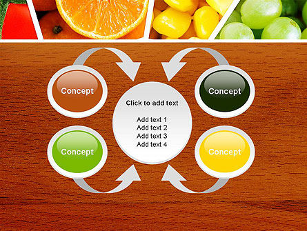 Fruits Collage PowerPoint Template Slide 6