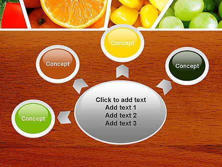 Fruits Collage PowerPoint Template Slide 7
