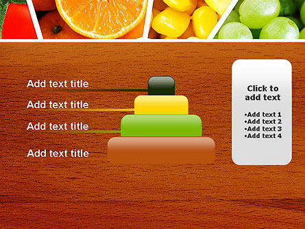 Fruits Collage PowerPoint Template Slide 8