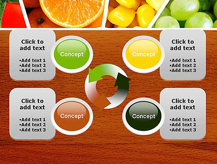 Fruits Collage PowerPoint Template Slide 9