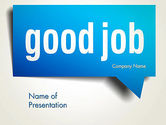 Careers/Industry: Good Job PowerPoint Template #13813
