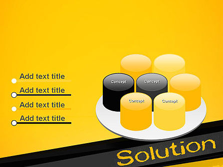 Solution PowerPoint Template Slide 12