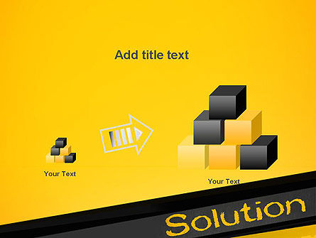 Solution PowerPoint Template Slide 13