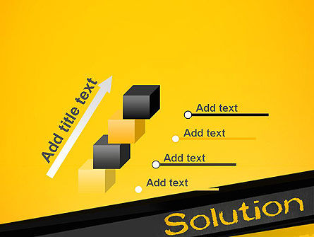 Solution PowerPoint Template Slide 14