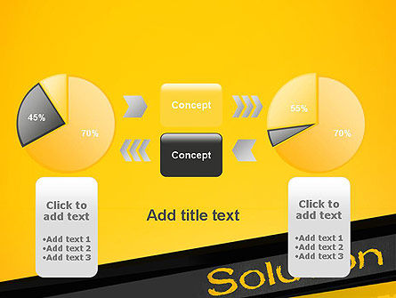 Solution PowerPoint Template Slide 16