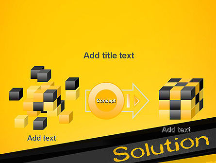 Solution PowerPoint Template Slide 17