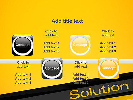 Solution PowerPoint Template Slide 18