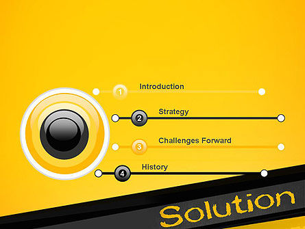 Solution PowerPoint Template, Slide 3, 13815, Business Concepts — PoweredTemplate.com