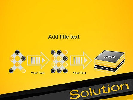 Solution PowerPoint Template Slide 9