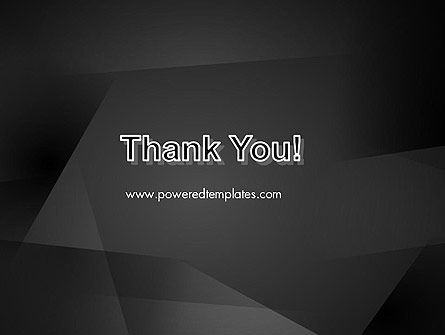 Black Abstract PowerPoint Template Slide 20