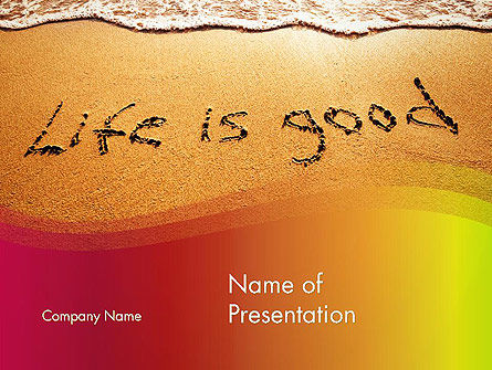 Happiest Moment PowerPoint Template