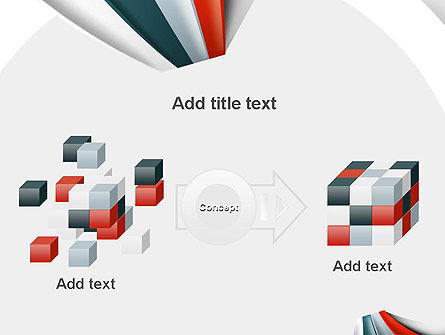 Strips Through the Paper PowerPoint Template Slide 17