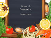 Food & Beverage: Modello PowerPoint - Delicatezza #13821