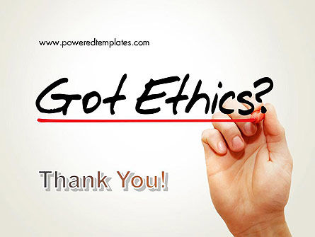 Ethical Code PowerPoint Template Slide 20