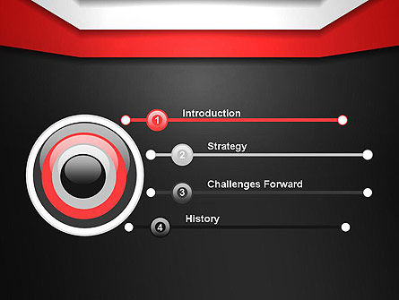 Parallel Lines PowerPoint Template, Slide 3, 13824, Abstract/Textures — PoweredTemplate.com