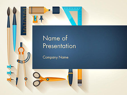 Workplace Tools PowerPoint Template