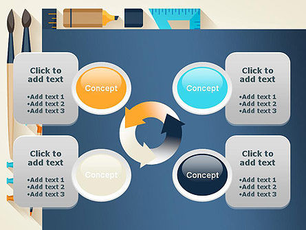 Workplace Tools PowerPoint Template Slide 9