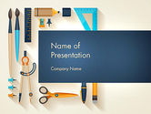 Education & Training: Workplace Tools PowerPoint Template #13826
