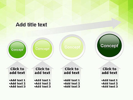 Green Polygons PowerPoint Template Slide 13