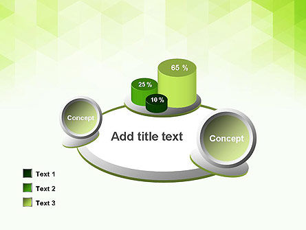 Green Polygons PowerPoint Template Slide 16