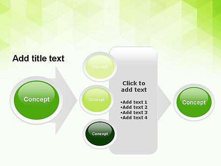 Green Polygons PowerPoint Template Slide 17