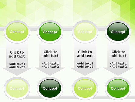 Green Polygons PowerPoint Template Slide 18