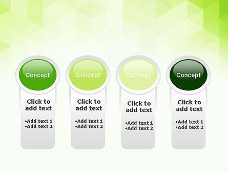 Green Polygons PowerPoint Template Slide 5