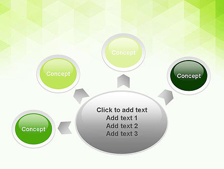 Green Polygons PowerPoint Template Slide 7