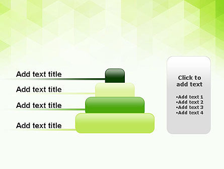 Green Polygons PowerPoint Template Slide 8