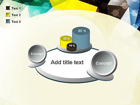 Polygons and Dots PowerPoint Template Slide 16