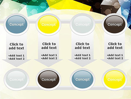 Polygons and Dots PowerPoint Template Slide 18