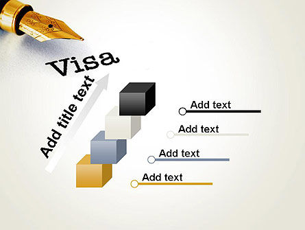 Immigration Visa PowerPoint Template Slide 14