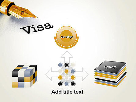 Immigration Visa PowerPoint Template Slide 19